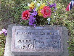 Elizabeth J. <I>Venden</I> Smithback