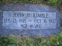 John Henry Kimble