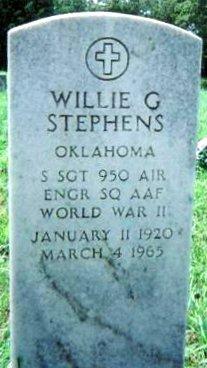 Willie G. Stephens