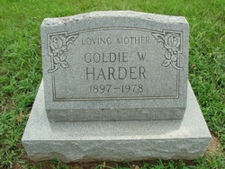 "Golda W. ""Goldie"" <I>Butner</I> Harder"