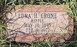 Edna H. <I>Hipple</I> Crone