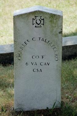 Sgt Charles Champe Taliaferro, Jr