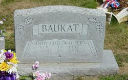 Cindy Lou <I>Walters</I> Baukat