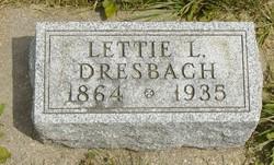 "Leticia Lytle ""Lettie"" <I>Stitt</I> Dresbach"