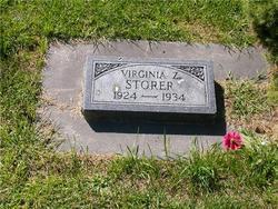 Virginia Zelma Storer