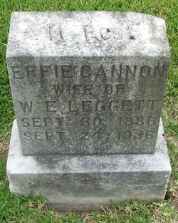 Effie <I>Cannon</I> Leggett