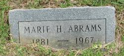 Marie H. Abrams