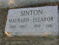 Eleanor M. <I>Moritz</I> Sinton