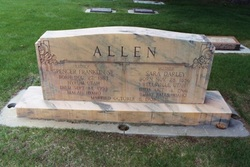 Sara <I>Darley</I> Allen