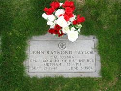 CPL John Raymond Taylor