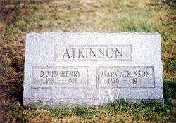 Mary Waddell <I>Atkinson</I> Atkinson