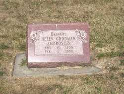 Helen L. <I>Goodman</I> Ambrosius