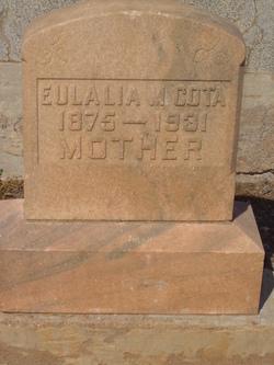 Eulalia <I>Moisa</I> Cota