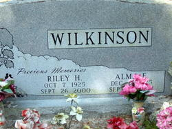 Riley H Wilkinson