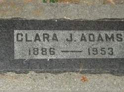 Clara Jane <I>Libengood</I> Adams
