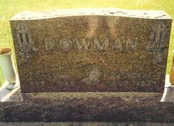Rev Noble Orley Bowman