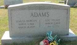 Lou <I>Stuart</I> Adams