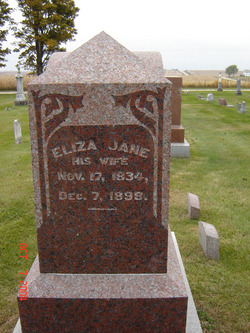 Eliza Jane <I>Morgan</I> Barr