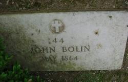 Pvt John Bolin