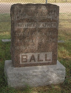 Sythia Ann Amelia <I>Dicks</I> Ball