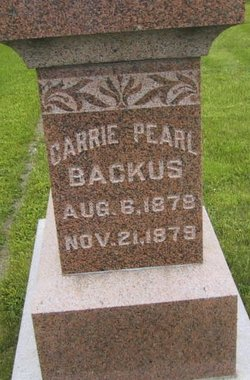 Carrie Pearl Backus