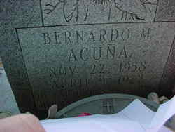 Bernardo Martinez Acuna