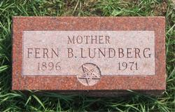 Fern B. <I>Raines</I> Lundberg