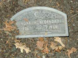 Nona H. Aldendyce