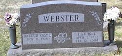 LaVonne R. <I>Christensen</I> Webster