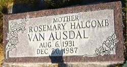 Janie Rosemary <I>Halcomb</I> Van Ausdal