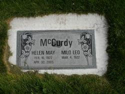 Helen May <I>McBeth</I> McCurdy