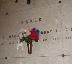 Ruby Luella <I>Pecht</I> Baker