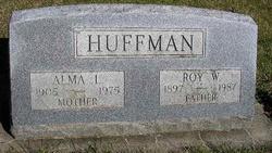 Alma L. <I>Holloway</I> Huffman