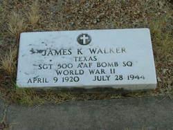 Sgt James K Walker