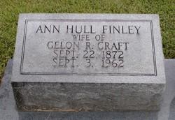 Ann Hull <I>Finley</I> Craft