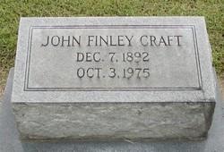 John Finley Craft