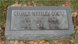 George Whitley Cocke