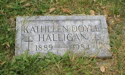 Kathleen <I>Doyle</I> Halligan