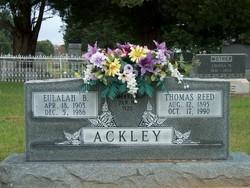 Eulalah B. <I>Lord</I> Ackley