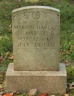Marion Harold Marsee