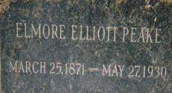 Elmore Elliott Peake