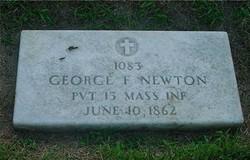 Pvt George F. Newton