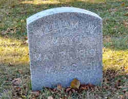 """Dr William Worrall """"W W """" Mayo (1819-1911) - Find A Grave Memorial"""