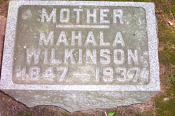 Mahala <I>Sayers</I> Wilkinson