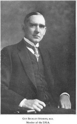 Dr Guy Beckley Stearns