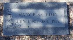 Mary Pauline <I>Keister</I> Britton