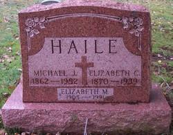Elizabeth C <I>Reck</I> Haile