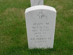 Joan M Gantz