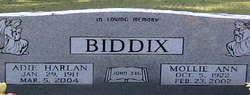 Adie Harlan Biddix