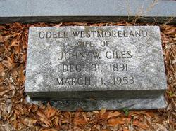 Odell <I>Westmoreland</I> Giles